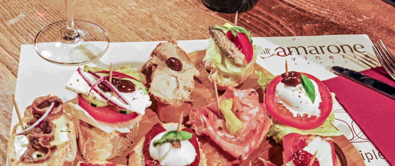 Cicchetti and good wine in Venice