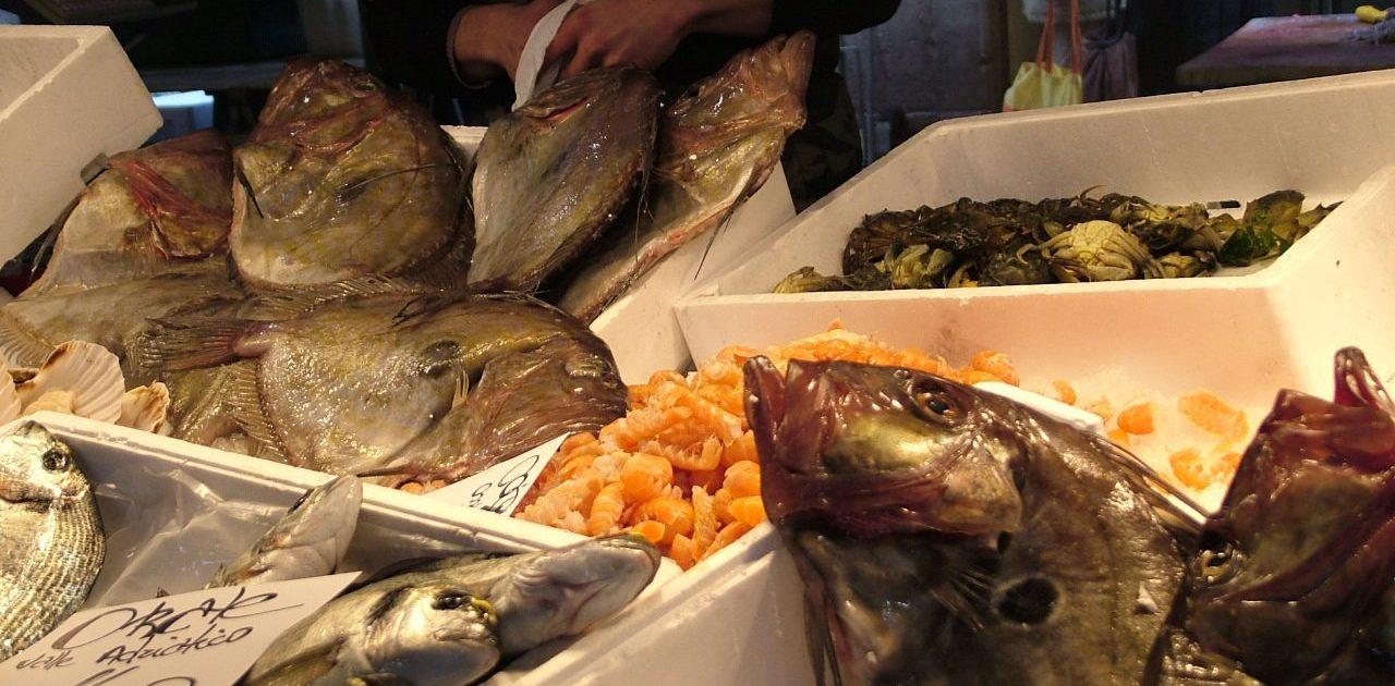 Rialto Market in Venice