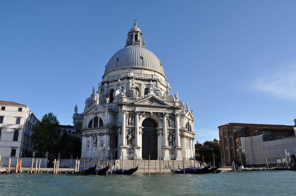 Basilica Santa Maria Della Salute In Venice Good Wine